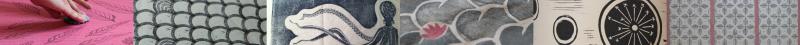 Bandeau de motifs | LinoLino | Linogravure et créations artisanales