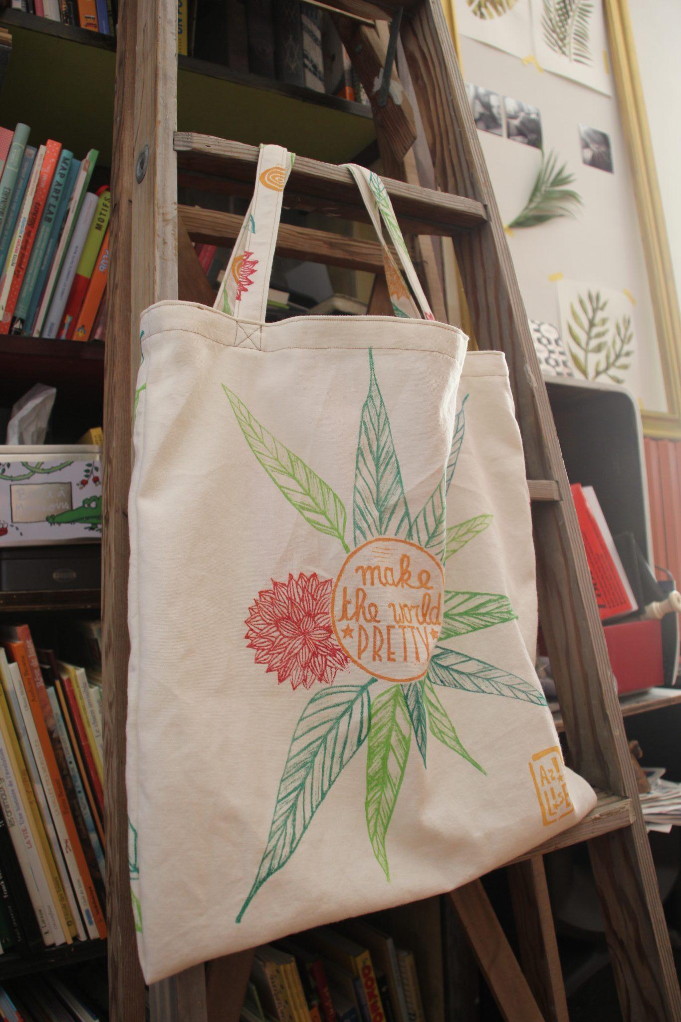 sac | LinoLino | Linogravure | Créations artisanales