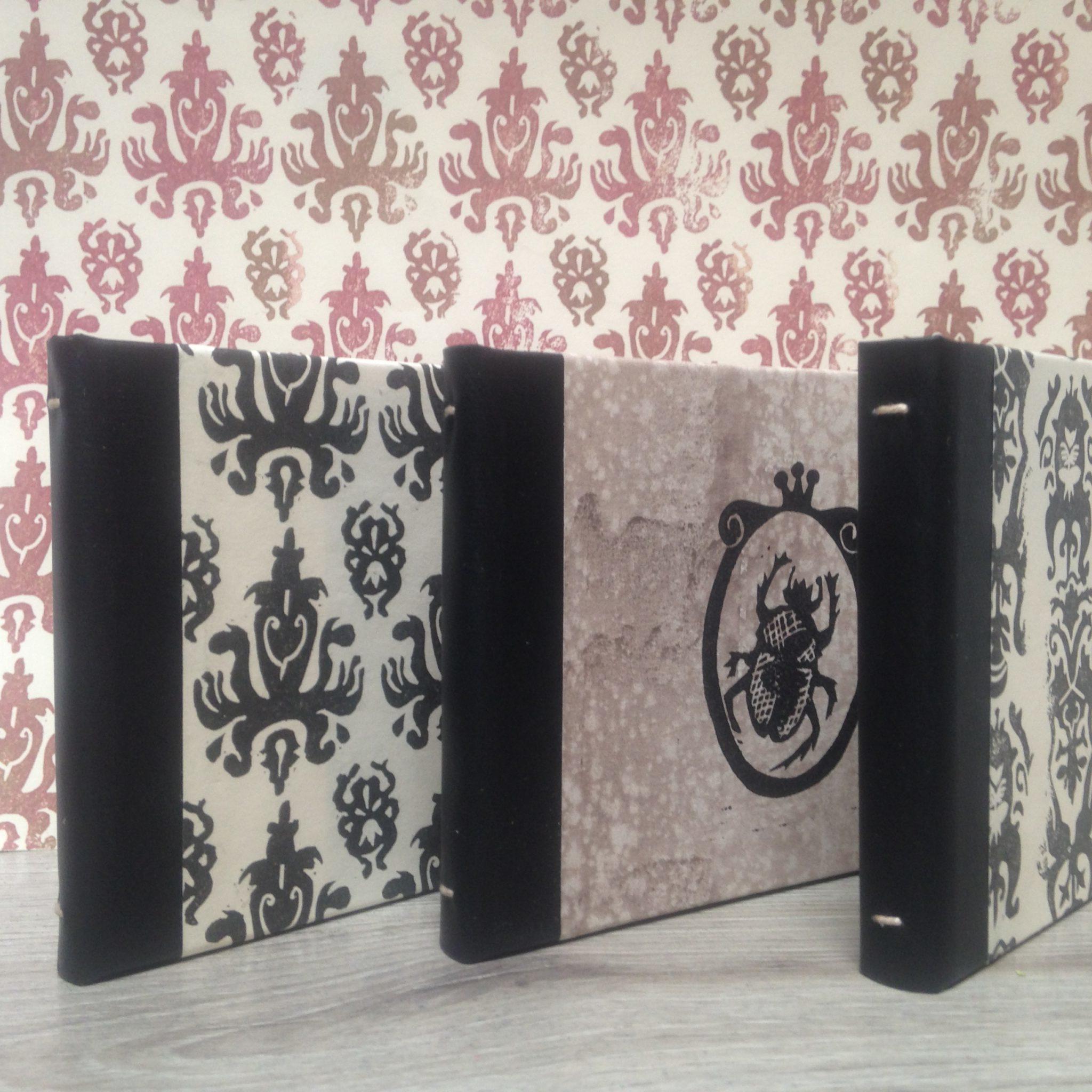 LinoLino | Linogravure et créations à partir d'impressions artisanales | Chambéry, France | Impression originale illustration mini carnets précieux