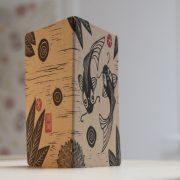 LinoLino - linogravure et créations   Petits carnets kraft