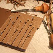 LinoLino - linogravure et créations | Petit carnet Coquelicots