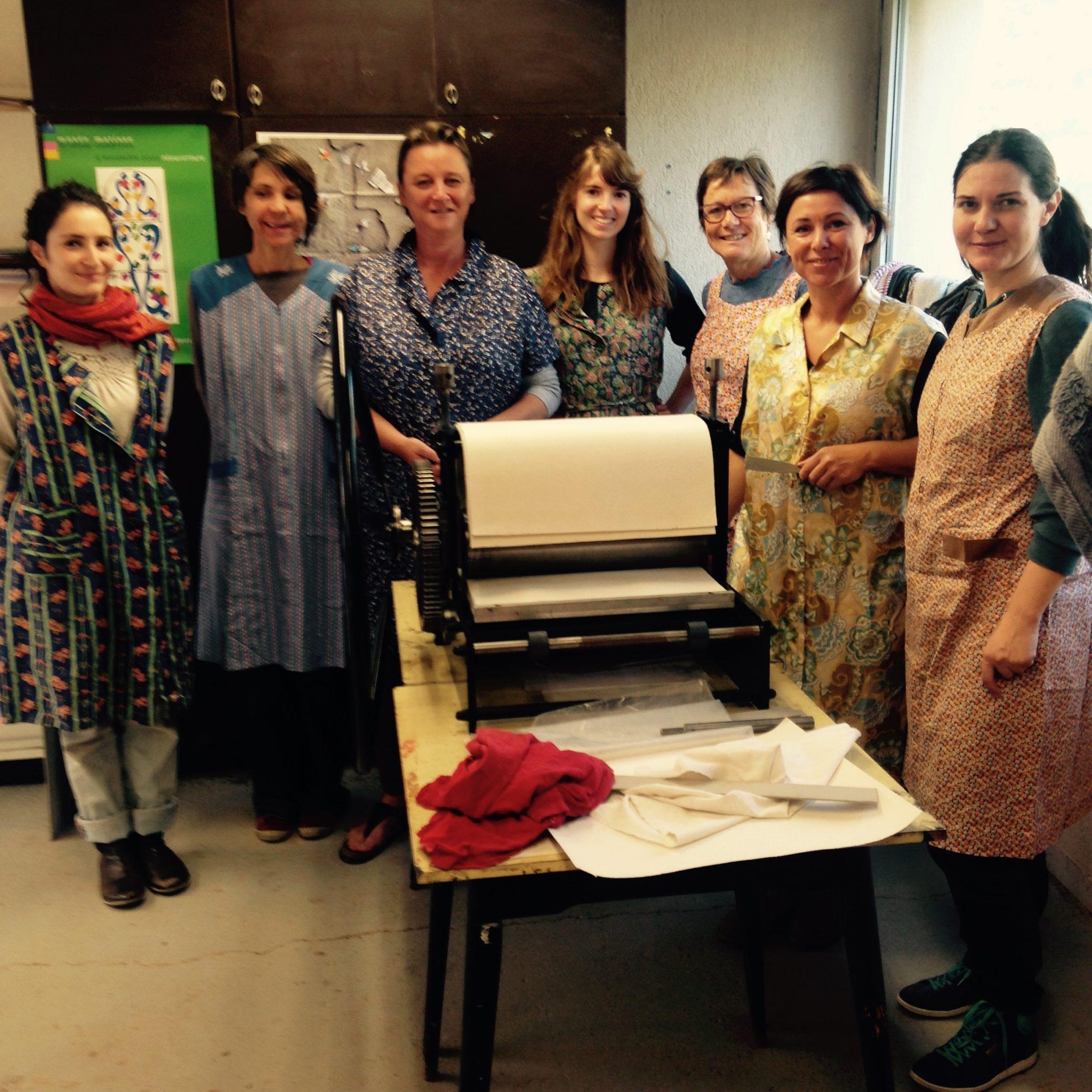 LinoLino | Linogravure et créations à partir d'impressions artisanales | Chambéry, France | Atelier Gravure Association ALEA, Montmélian