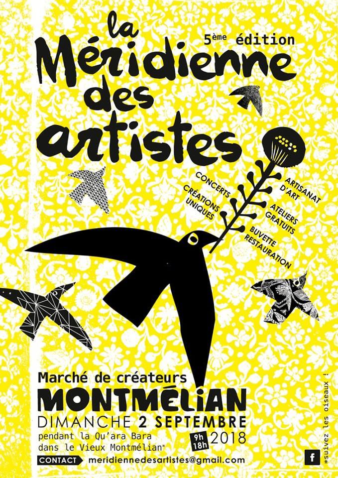 LinoLino | Linogravure et créations à partir d'impressions artisanales | Chambéry, France | Méridienne des Artistes 2018, Montmélian
