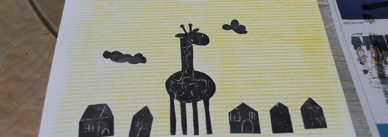 LinoLino | Linogravure et créations à partir d'impressions artisanales | Chambéry, France | Atelier Enfants Initiation Gravure Impression, Montmélian association Alea