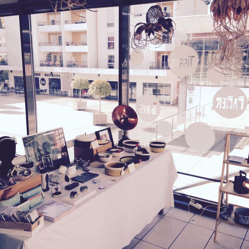LinoLino | Linogravure et créations à partir d'impressions artisanales | Chambéry, France | Boutiqueéphémère Le Kiosque Seynod 2017