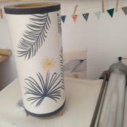 LinoLino | Linogravure et créations à partir d'impressions artisanales | Chambéry, France | lampes