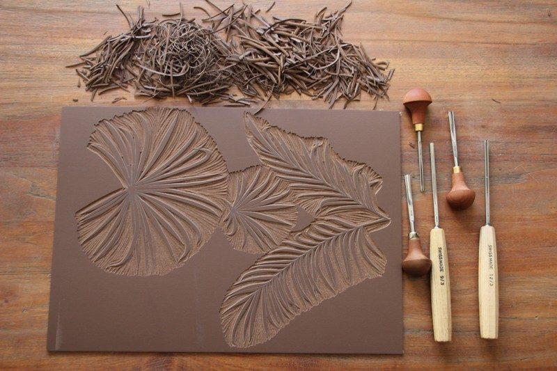 LinoLino | Linogravure et créations à partir d'impressions artisanales | Chambéry, France | Atelier Linogravure Association Aléa, Montmélian